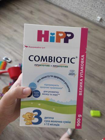 Hipp combiotic 3, молочная смесь Hipp