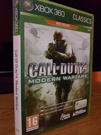 Call of Dutty 4 xbox 360
