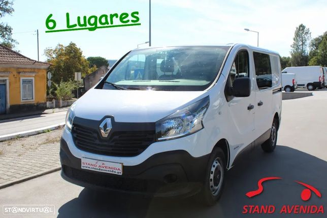 Renault Trafic 1.6 dCi / / 6 Lugares / / 55.000 Km´s