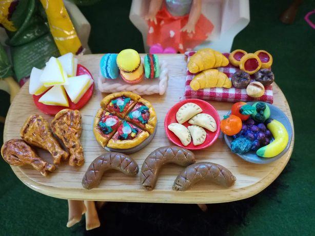 Barbie, domek dla lalek, gadżety, jedzenie, Maileg