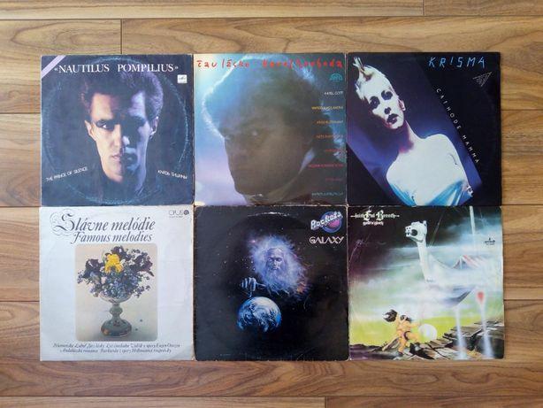 Płyty winylowe: Nautilus, Krisma, K. Svoboda, Galaxy, Faithful Breath