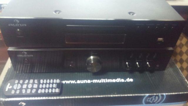 AV2-CD508 Wzmacniacz i AV2-CD509 Odtwarzacz CD-MP3 AV2-CD509 radio USB