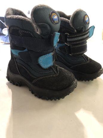 Детский зимние ботинки