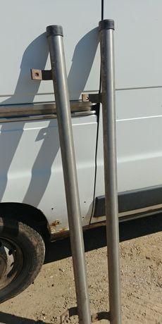 Orurowanie boczne rury progowe do samochodu terenowego