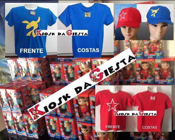 Luccas e Gi Neto médios e grandes,14 falas originais, T-shirts e bonés