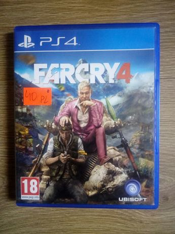 Far Cry 4 PL wersja na PlayStation 4 PS 4
