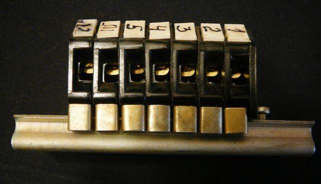 Клемна колодка, клемник ПА1У, 8Н18-2521205У2, 25А, 660-440В