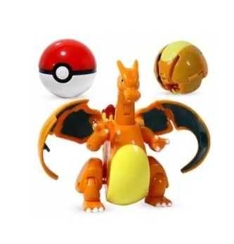 Pokemon charizard, jenny turtle, pokemony dla dzieci, pokeball
