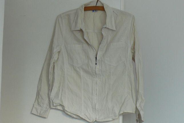 Biała koszula rozmiar M (40)