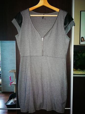 Chillin Cropp sukienka popielata r. XL