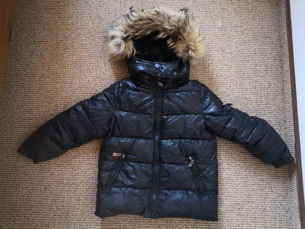 Куртка зимняя пуховик перо на мальчика 3-4 года