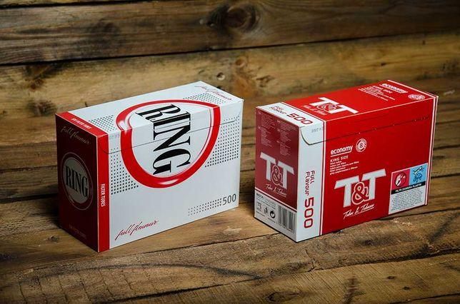 Сигаретные гильзы RING / T&T.