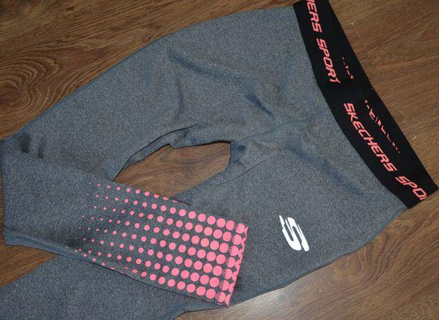 Skechers spodnie getry sportowe S M legginsy
