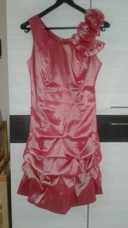 Sukienka malinowa rozmiar L