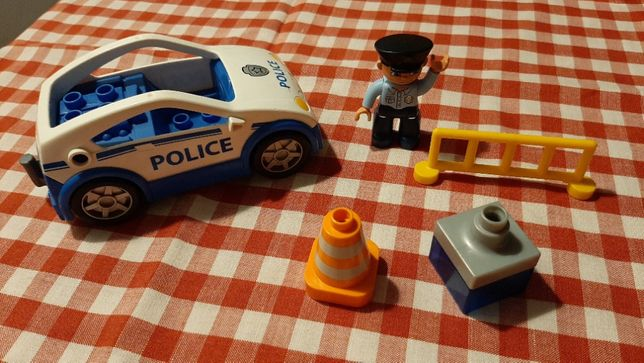 Zestaw Policyjny Patrol Duplo 4963