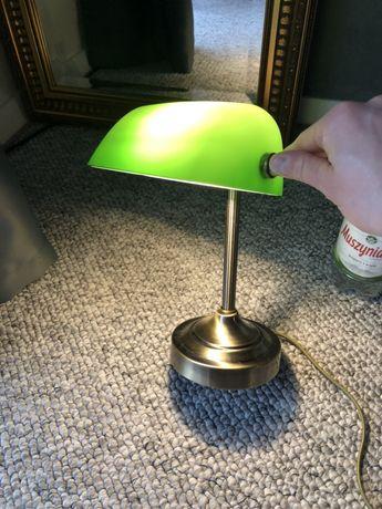 Stylowa lampka biurkowa bankierska nowa przecena 349 -> 189zł