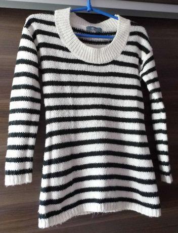 Sweter tunika E-vie rozmiar 6 (34)