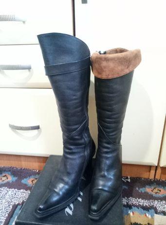 Сапоги кожаные на меху GINA COLLECTION 37