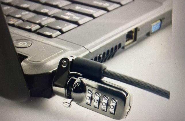 Cabo Seguranca Com codigo para portatil - NOVO
