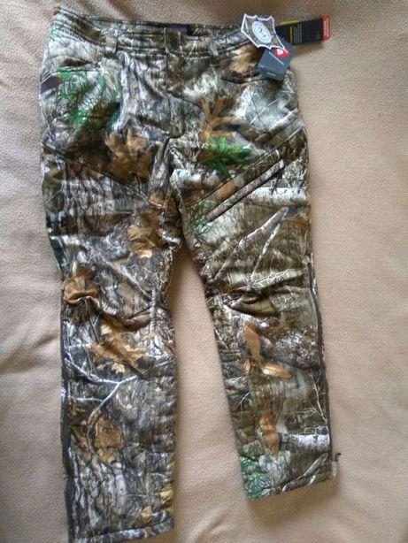 Охота рыбалка тёплые тактические штаны Under Armour S L оригинал USA