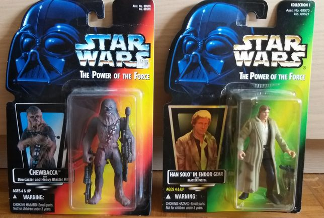 STAR WARS - The Power of the Force - Tonka Kenner Hasbro (anos 90)