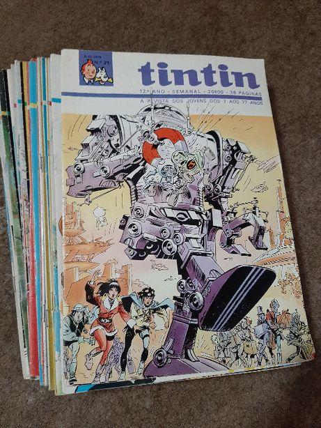 Revistas Tintin - 23 números