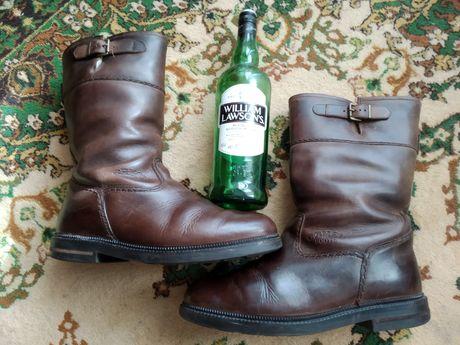 Сапоги ботинки байкеры козаки CAMEL