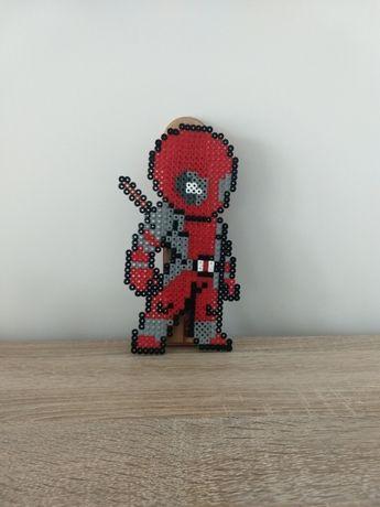 Deadpool Marvel koraliki hama