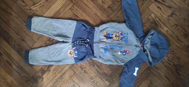 Теплый спортивный костюм nickelodeon щенячий патруль