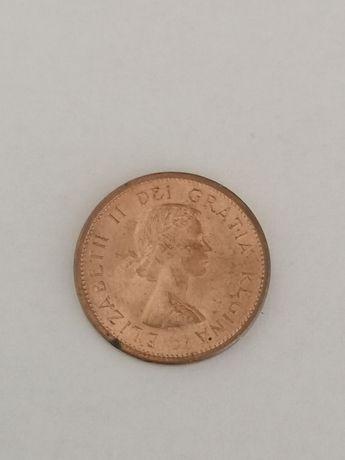 Kanadyjska moneta 1 cent z 1964r Okazja Tanio!!