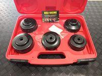 Conjunto de chaves filtro de óleo 6pecas Moto