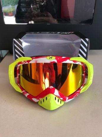 Nenki Goggles MX Enduro BTT Óculos de protecção