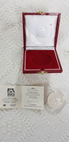 Moeda comemorativa prata FIA campeões F1 25€ - Jean Alesi