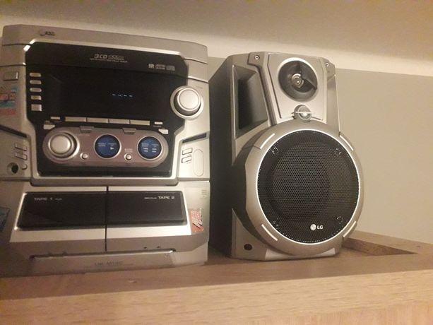 Wieża stereo głośniki lg