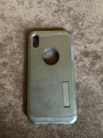 Obudowa/ Case spigen Iphone XS MAX z nóżką/ podpurką