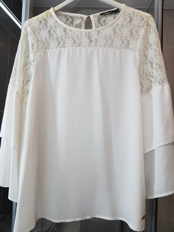 Vendo blusa branca nacional