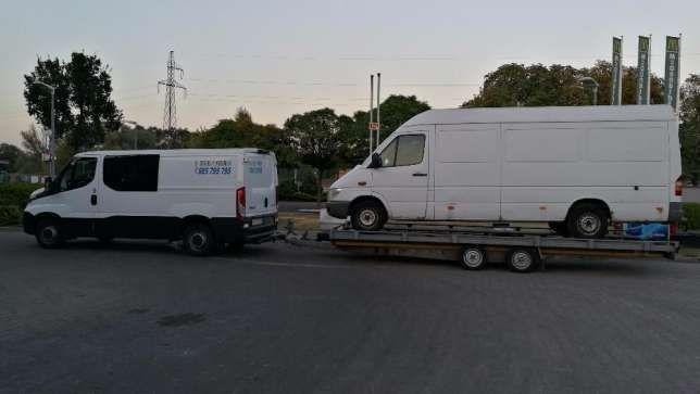 Holowanie 24h AutoLaweta wynajem Transport Aut Gorzów pomoc drogowa