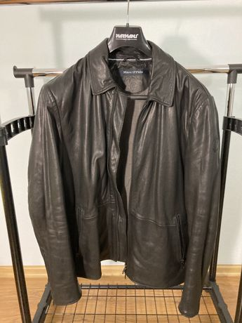 Кожаная куртка курточка Marc O'Polo