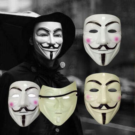 Маска Фокса фокусника анонимная В значит Вендетта