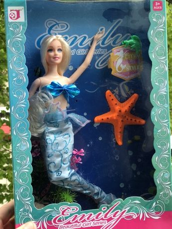 Куколка барби русалка Барбі Кукла