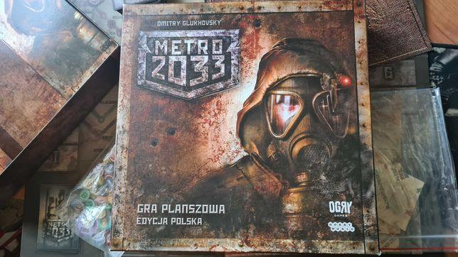Unikat Gra planszowa Metro 2033 (edycja polska)