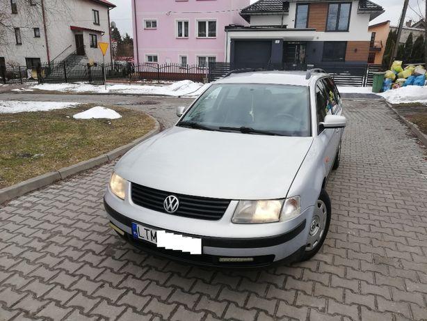 VW Passat B5 1.9TDI 90KM Climatronic, SKÓRA, Dwa Kpl. Kół, ŚLICZNY!