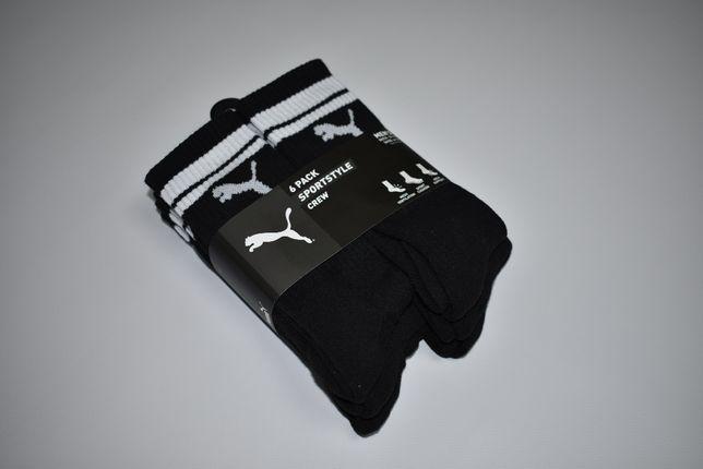 Оригінальні шкарпетки PUMA 6 пар розмір 39-45