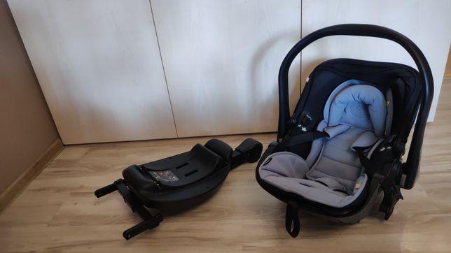 Fotelik samochodowy KIDDY EVOLUTION PRO 2 + baza ISOFIX dla dzieci o w