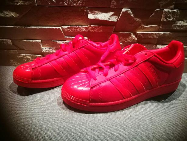 Buty Adidas damskie czerwone Nowe.