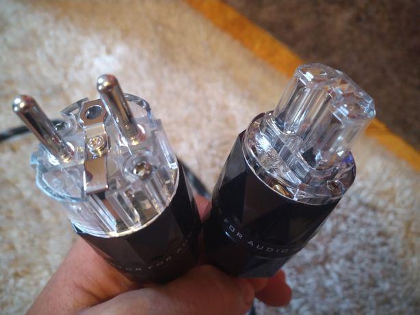 Kabel zasilający 2m KaCsa 3x2.5mm² na wtykach rod Viborga
