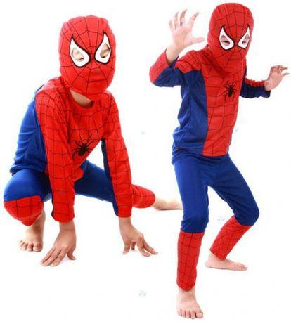 2-3 lat SPIDERMAN strój karnawałowy 3 części nowy batman superman mas