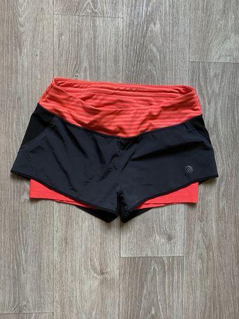 Женские шорты лосины спортивные 2в1 оригинал