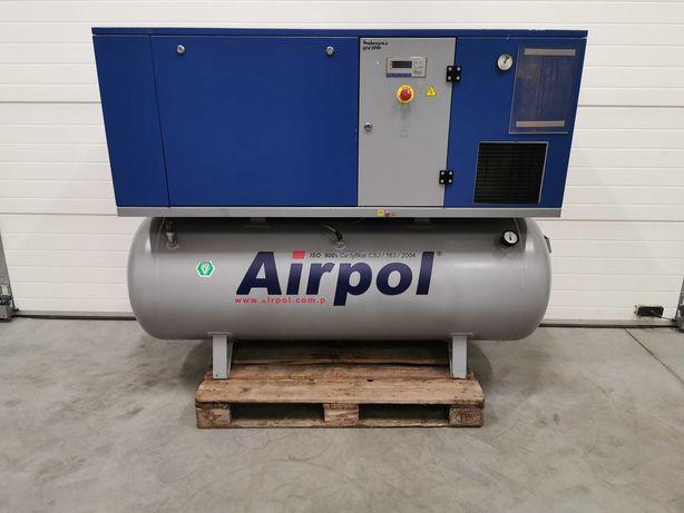Sprężarka śrubowa 11kw AIRPOL KT11 kompresor 1800l/min +OSUSZACZ!!