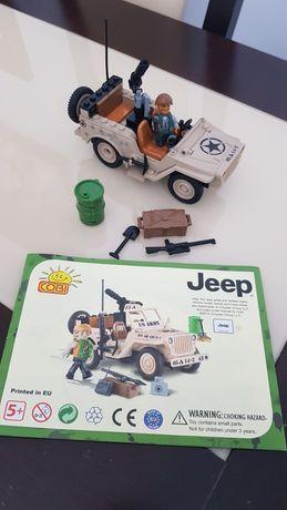 Lego Cobi Mała Armia Jeep Willys